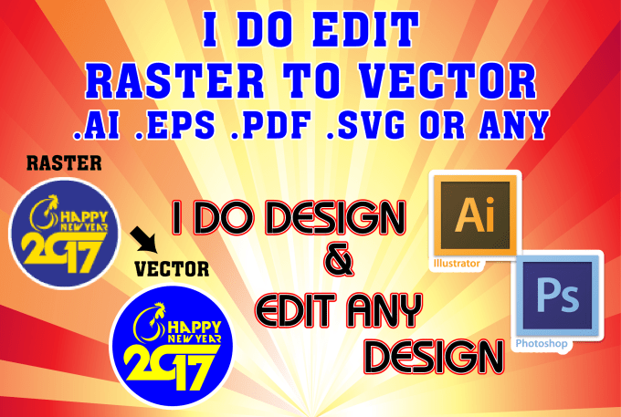 Edit any graphic design adobe illustrator by Nazmul_bd_gd