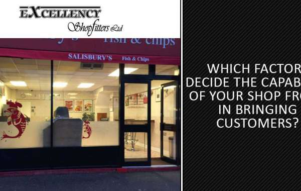 Which factors decide the capability of your shop front in bringing customers?