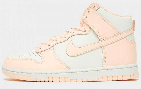 """Newest Nike Dunk High """"Crimson Tint"""" Now Releasing For Women"""